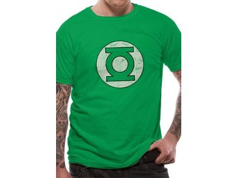 GREEN LANTERN - DISTRESSED LOGO (UNISEX) - Small