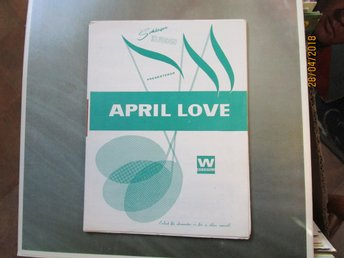 APRIL LOVE - NOTER