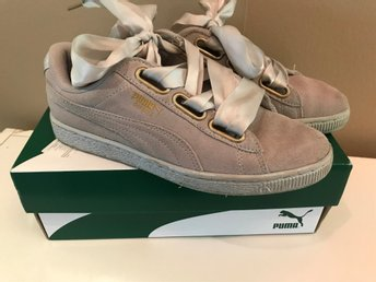 Puma, suede heart satin, 37