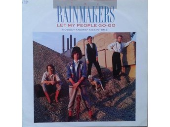 "The Rainmakers title* Let My People Go-Go* Pop Rock  12"" UK"