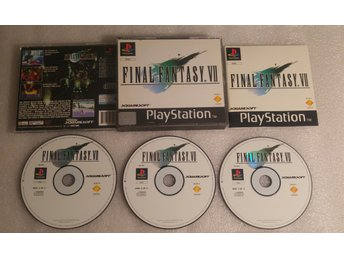 Final Fantasy VII Till Playstation! Komplett! 1kr