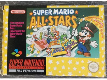 Super Mario ALL STAR Super Nintendo - SNES Bergsala
