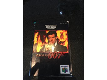 Goldeneye Nintendo 64 manual