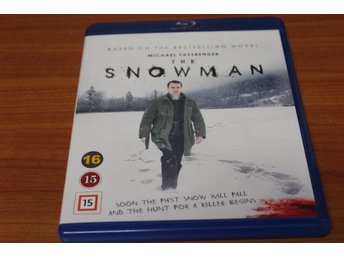 Bluray-film: The Snowman (Michael Fassbender)