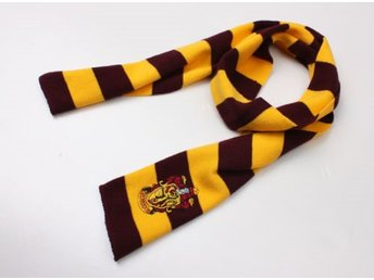 Harry potter Gryffindor vinter Halsduk scarf Cosplay maskerad