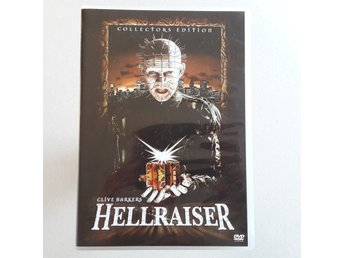 HELLRAISER Collectors Edition Clive Barker klassiker Skräck video 1987 Julrys