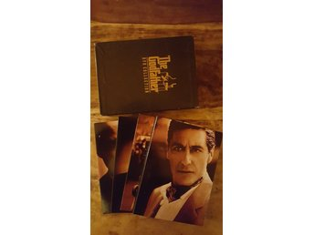 The Godfather / DVD Collection / DVD Box (del 1,2,3 + extramaterial)