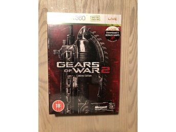 Gears of war 2 limited edition inplastad Xbox 360