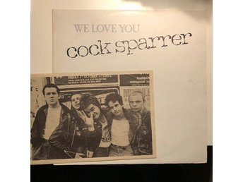 "12"" Cock Sparrer - We love you ep 77 UK Oi!"