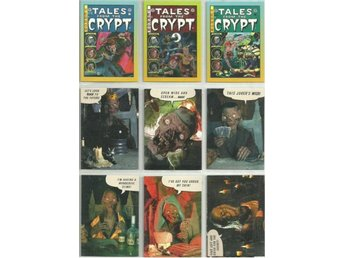 9 st  TALES FROM THE CRYPT  SAMLARKORT  - LOT NR 8