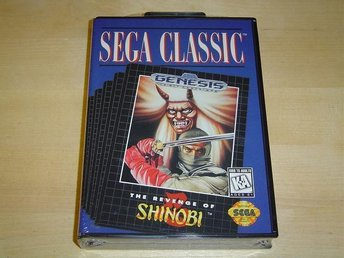 THE REVENGE OF SHINOBI TILL SEGA MEGADRIVE *NYTT*