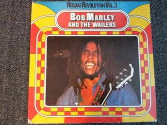 BOB MARLEY & THE WAILERS - Revolution Part III GERMAN PRESSING Reggae Roots