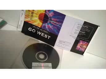 Go West - All day, all night, CD