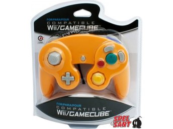 Gamecube Kontroll Orange (Cirka)