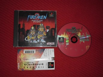Japanskt The Firemen 2 PlayStation PS1