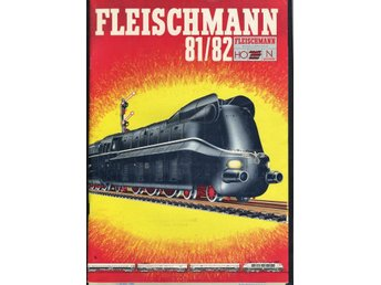 Fleischmann katalog 1981/82 på svenska komplett, ca 90 sid. - Forshaga - Fleischmann katalog 1981/82 på svenska komplett, ca 90 sid. - Forshaga