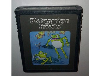 Die hungrigen frösche - Atari 2600 - Frogs and flies