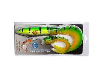 Savage Gear 3D Hard Eel Tail Bait 25cm 109g SS 04 Fire Tiger