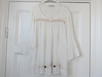 Tunika blus från Cream stl 46 Top i viscose