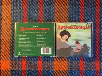 DJUNGELBOKEN - CD 2003 Walt Disney Svenskt Soundtrack