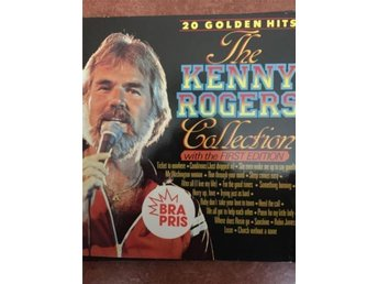 20 golden hits  the  Kenny Rogers'   collection,   *With the first edition* LP