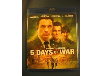 5 DAYS OF WAR - ANDY GARCIA, VAL KILMER - AV RENNY HARLIN - KRIG - BLU-RAY