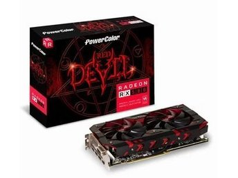 PowerColor AMD Radeon RX 580 8GB Red Devil Graphics Card