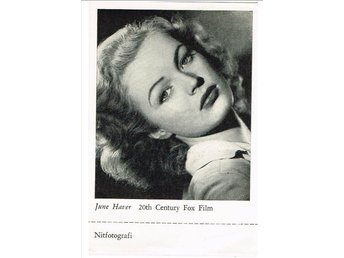 JUNE HAVER (1926-2005) - Nitfotografi (?)