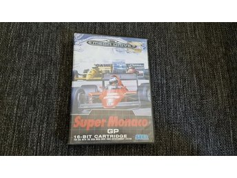 Super Monaco GP BOX - Sega Mega