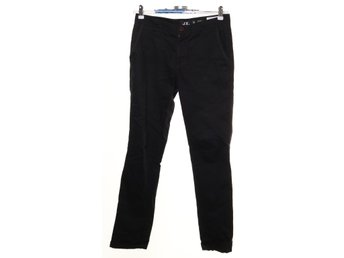 Chinos, Slim Fit, Strl: 30, Svart