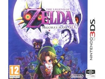 Legend of Zelda: Majora's Mask 3D (Originalutgåva) (Beg)