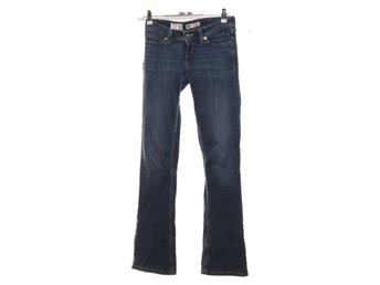 Levi Strauss & Co, Jeans, low rise, bootcut skinny, Strl: 24/32, Blå