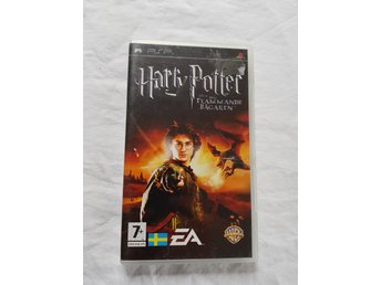 Harry Potter Och Den Flammande Bägaren - The Game - PSP (Komplett!)