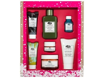 NYTT ORIGINS GIFT SET BEST OF THE BEST SKIN CARE, 7 DELAR, FIN JULKLAPP !!
