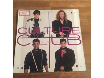 CULTURE CLUB - FROM LUXURY TO HEARTACHE.  (LP)