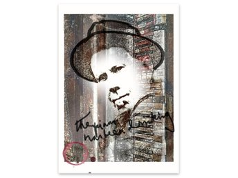 Tom Waits RockArt Poster