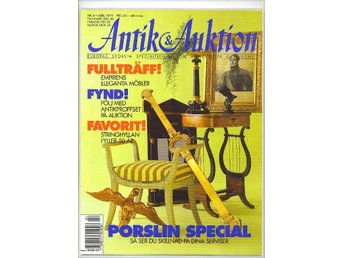 Antik & Auktion 4/1999 - Stringhyllan 50 år, finsk form m m