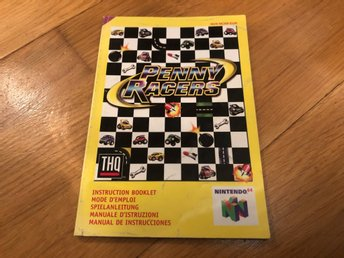 Penny Racers - Nintendo 64 manual
