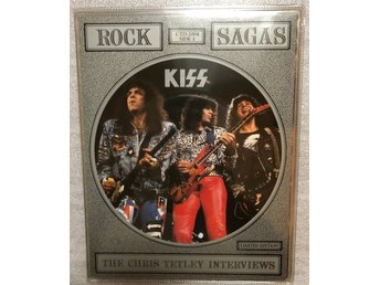 KISS Rare picture disc, signed by Bruce Kulick