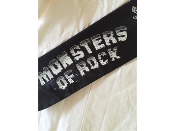 IdolHalsDuk Av Monsters Of Rock -90