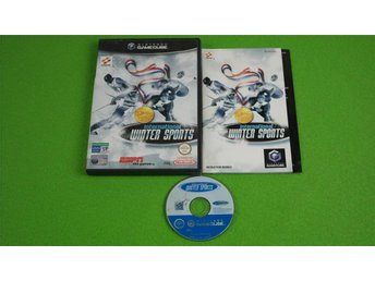 International Winter Sports ENGELSK UTGÅVA KOMPLETT GameCube Game Cube