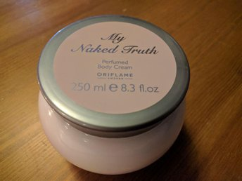 "Helt Ny Oriflame ""My naked truth"" Body cream"
