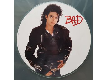 Michael Jackson – Bad /Album Picture disc / US -87 / Bildskiva