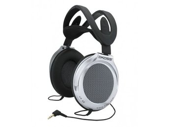 KOSS Hörlur UR40 Over-Ear Silver