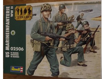 WWII US MARINES        Revell  1/72 Byggsats