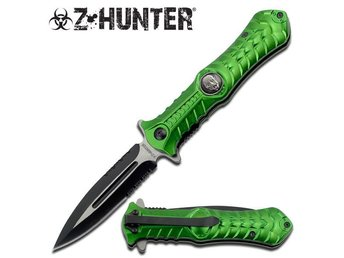 Z-HUNTER - 004 - Folding knife / Fällkniv - false Dagger