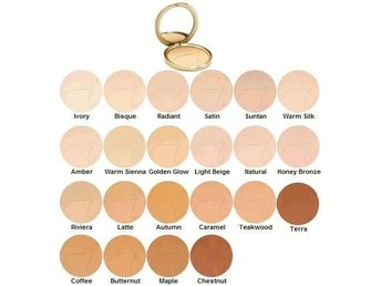 "Jane Iredale: Pure pressed base ""Chestnut"""