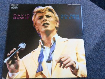 DAVID BOWIE LP Golden years dig,rem. Australisk press och utgåva 1983