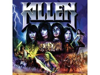 Killen -Same/Restless Is The Witch cd S/S Epic 80s US metal
