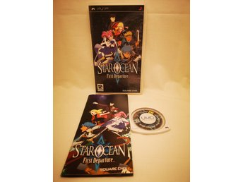 Star Ocean: First Departure / PSP / Sony / Playstation